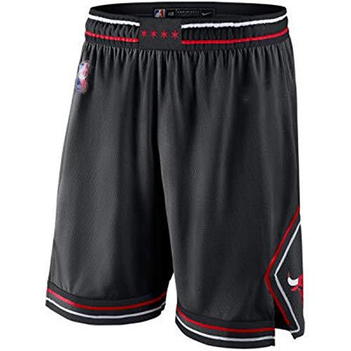 EDFG Abito da Uomo in Jersey di Basket Michael Joe # 23 Chicago Bulls Maglia da Fitness retrò Gilet Sportivo + Pantaloncini Sportivi-L-G