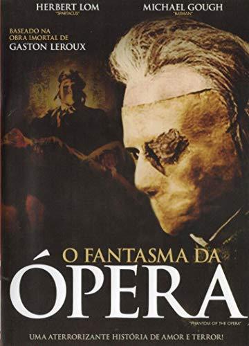 DVD O Fantasma da Ópera Herbert Lom Michael Gough