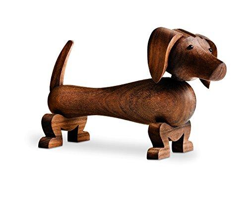 Kay Bojesen - Holzfigur - Dackel, Hund - Walnussholz - Designklassiker