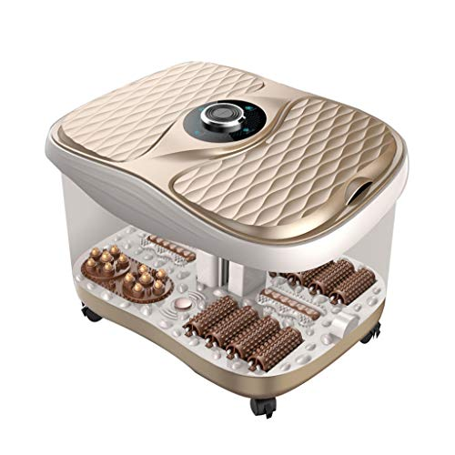 Jlxl Voetbad Elektrische automatische massage badkamer sauna paar om dubbel in te weken voeten diep vat kind (kleur: A)