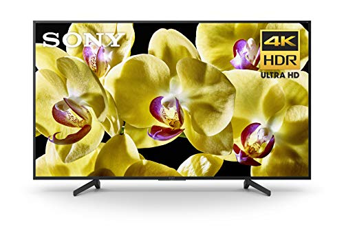 Sony X800G 65 Inch TV: 4K Ultra HD Smart LED TV with HDR and Alexa Compatibility - 2019 Model, 65-Inch