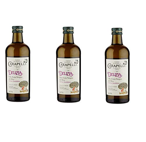 bester Test von carapelli olivenol 3x Natives Olivenöl Extra Caraperi Delizia 0,75 l