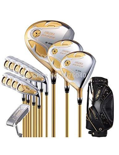 LJPHLL Ensemble Complet De Clubs De Golf Honma Bere Ensemble...