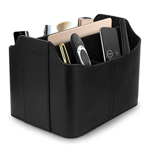 Londo OTTO170 - Organizador de Cuero con Ranura para Tablet - Color Negro