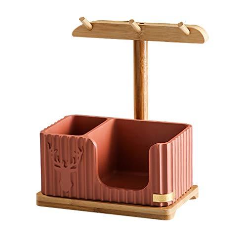 YXCKG Jewerly Holder Organizer, Creative Decorative Trays For Coffee Table, Bandeja De Llaves para Mesa De Entrada, Decoracion De Mesa Regalo De Inauguración (Color : Orange)