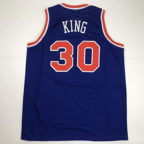 Unsigned Bernard King New York Blue Custom Stitched Basketball Jersey Size Men's XL New No Brands/Logos