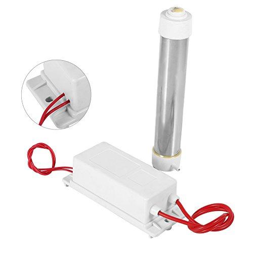 Cerlingwee Tubo generatore di ozono, generatore di ozono 220V per Strumenti Domestici Home
