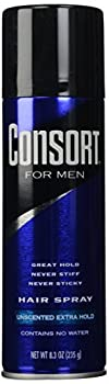 Consort For Men Hair Spray Unscented Extra Hold 8.30 oz