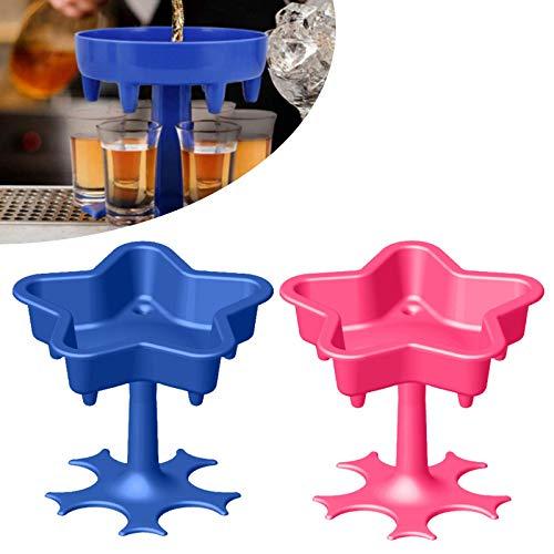 Drankautomaat cocktail Drankglas Dispenser en houder Drankglas Dispenser Vloeistoffen vullen Cocktail Shots Dispenser…