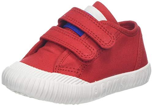 Le Coq Sportif Nationale INF, Baskets Mixte bébé, Rouge (Pure Red Pure Red), 21 EU