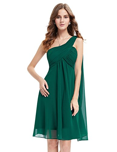 Ever Pretty Womens One Shoulder Ruched Empire Waist Bridesmaids Dress 4 US...
