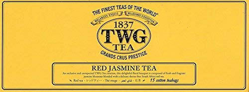 シンガポールの高級紅茶TWGシリーズ (Red Jasmine Tea) レッドジャスミンティー - 15茶パック - 並行輸入品 [並行輸入品]