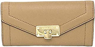 Michael Kors Women's Kinsley Carryall Wallet, Flap Leather - Bisque