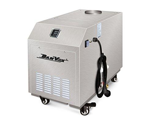 Umidificatore a ultrasuoni Danvex Hum 3s Umidificatore industriale per mantenere e garantire il tasso di umidità ideale nellaria di grandi magazzini fabbriche o comunque ampi spazi Umidificatore che produce 3 kg di nebbia acquosa all ora