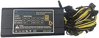 SAUJNN ATX 1600w 1600W PC Computer Power Supply 1600W ATX PSU for rx 470 rx 570 rx 480 serwer rx 570 Bitcoin Miner Ethereum asic s9