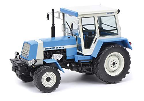 Schuco 450782500 450782500-Fortschritt ZT 323 1:32, Modellauto, Modellfahrzeug, blau/weiß