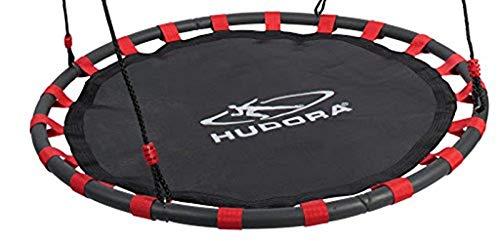 HUDORA 1 Schaukeltuch, für die Nestschaukel 120 Schwarz/Rot s2R0TO