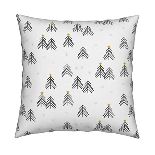 Ad4ssdu4 Funda de cojín decorativa de árbol de Navidad, diseño escandinavo, 45,72 cm