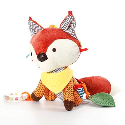 Juguetes De Felpa Para Niños Lovely Fox Soft Plush Toy Doll Recién Nacido Cama De Bebé Colgante De Juguete Cama Bell Cochecito De Juguete Para Regalo Infantil