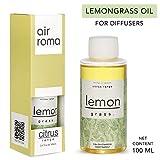 AirRoma Lemon Grass Aroma Diffuser Oil Pure, Natural & Undiluted (100ml)