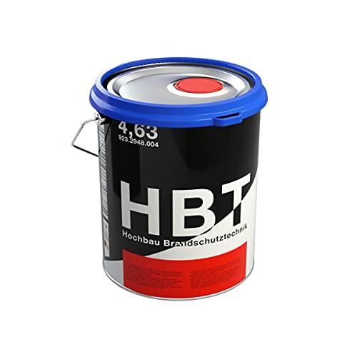 HBT Fast-Dry Alkyd 4314 | Grüne Metallfarbe für Stahl und Eisen | Metalllack RAL 6005 Rostschutzfarbe für innen und außen | 2 in 1 Grundierung und Metallschutzlack in Moosgrün | matt