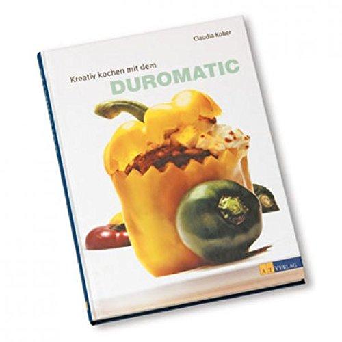 Kuhn Rikon RICETTARIO DUROMATIC TEDESCO Ricettario con 60 piatti per Duromatic in tedesco