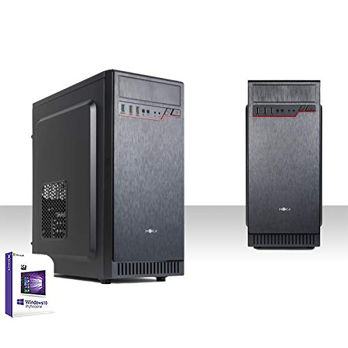 PC DESKTOP INTEL QUAD CORE LICENCIA WINDOWS 10 PRO 64 BIT ORIGINAL / HD 500GB SATA III / RAM 4GB DDR3 / HDMI-DVI-VGA / USB 3.0,2.0, AUDIO, VIDEO, LAN / RW-DVD LG / PC FIJA COMPLETA, OFICINA INICIO, RED SOCIAL