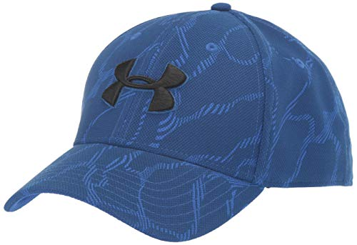 Under Armour Men's Printed Blitzing 3.0 Gorra, Hombre, Azul, M/L
