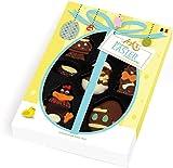 Ickx Chocolates Confezione Regalo Ovetti e Soggetti di Pasqua in Cioccolato Assortito - 1 x 100 Grammi