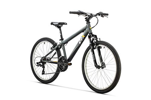 "AFX Bicicleta MTB Junior 24"" Rohan, Color gris"