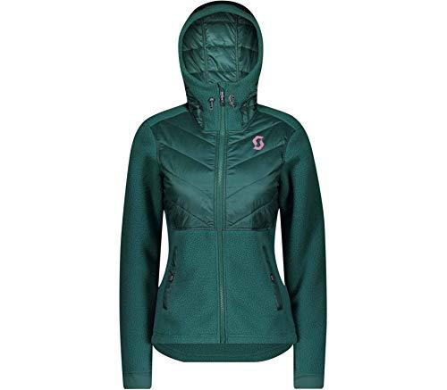 Scott Hoody Damen Defined Sherpa jasper green L