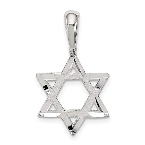 925 Sterling Silver Jewish Jewelry Star Of David Pendant Charm Necklace Religious Judaica Fine Jewelry For Women Gifts For Her