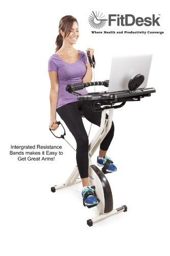 Best Exercise Bike Under 500 - FitDesk Desk Exercise Bike