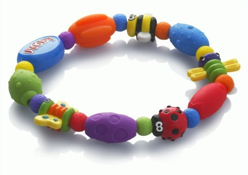Nuby Bug A Loop Teether Bead, Colors May Vary Kids, Infant, Child, Baby Products bébé, nourrisson, enfant, jouet