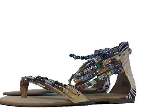 ZIGI SOHO Talisa Women's Sandal 7 B(M) US Tan, Multicolor, Size 7.5