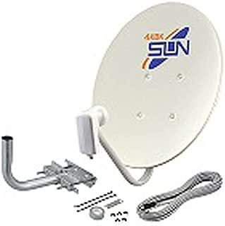 サン電子 新4K8K衛星放送対応BSアンテナセット CBD-K045-S