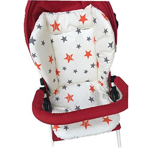 1PC transpirable cochecito de bebé del asiento del coche del cojín del asiento del casquillo de alta silla del asiento del amortiguador Liner Mat algodón cojín del asiento protector para cubrir
