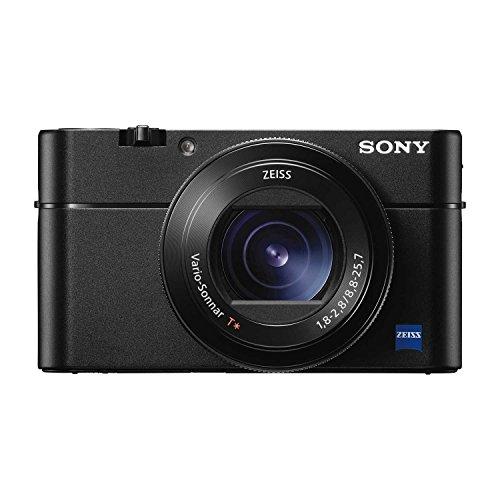 Sony Premium Compact DSC-RX100M5A Advanced Digital 4K Camera (Black)