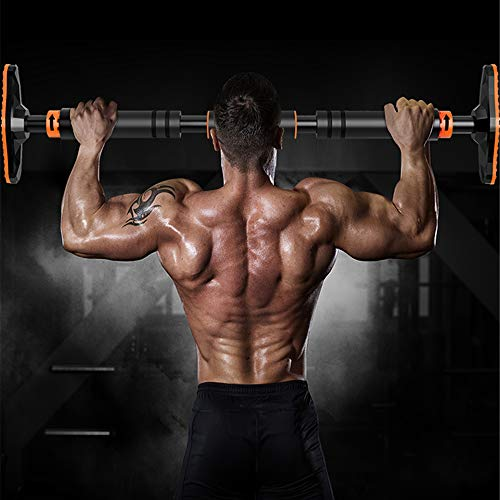 FEIERDUN Pull Up Bar for Doorway Chin Up Bar Upper Workout Home Gym Exercise Equipment Fitness