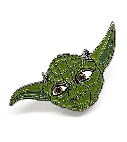 Starwars Yoda Anstecker aus emailliertem Metall (Star Wars)