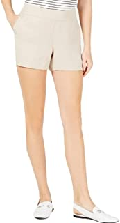 Maison Jules Pull On Shorts Oxford Tan Size Small