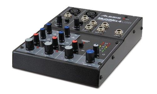 Alesis 4-channel Desktop Mixer Multimix 4usb (japan import)