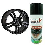 ADAILY CAR Spray Dip Covering Full Plasti Negro Mate Para Llantas-1 Botella De 400 Ml Profesional-Calidad De Aerosol Pelable-Logotipo Del coche-Personalización De Su Vehículo