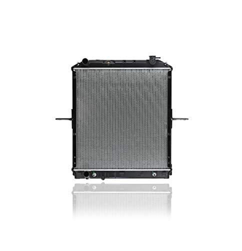 Radiator - Cooling Direct For/Fit 8982105373 11-17 Isuzu NPR Heavy-Duty NQR NRR 5.2L Turbo Diesel Plastic Tank, Aluminum Core
