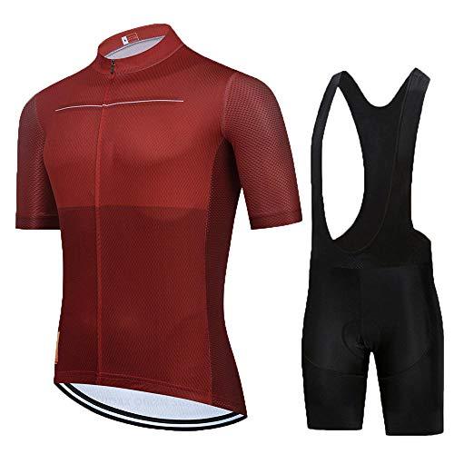 HXTSWGS Ciclismo para Hombre de Equipos Ciclismo Ropa,El Mejor Equipo de Ciclismo para Hombre, Camiseta de Manga Corta, Jersey de Ciclismo, Cubierta de Bicicleta de Carretera de verano-A07_5XL