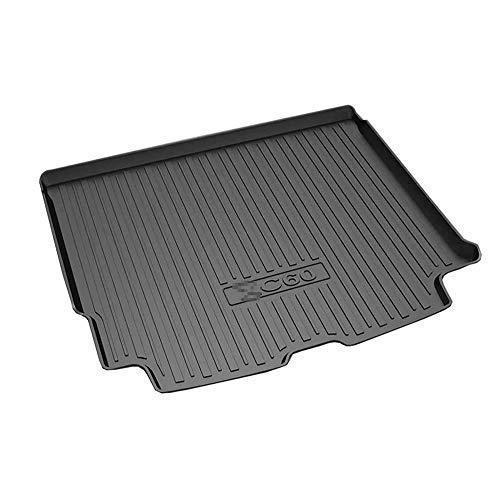 KYLN Tappetini per Bagagliaio, per Volvo XC60 2012~2020 Tappeto Protezione Vasca Baule Antiscivolo Accessori Modifica Interna