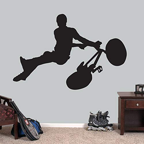 GJQFJBS Sport wandtattoo persönlichkeit kinder dekorative wandaufkleber wasserdicht abnehmbare vinyl dekorative aufkleber A3 85x57 cm