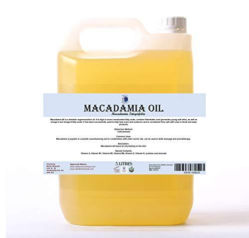 Mystic Moments Huile de support macadamia - 5 litres - 100% pure