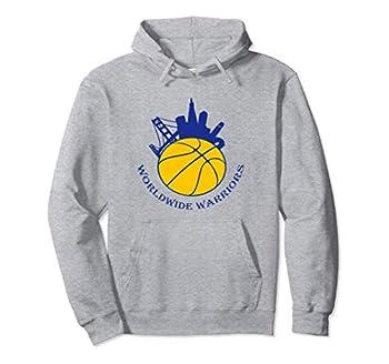 Golden State Distressed Basketball Team worldwide warrior Pullover Hoodie