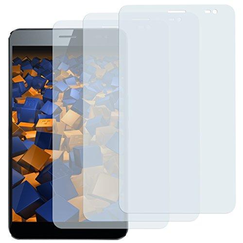 mumbi Schutzfolie kompatibel mit Huawei MediaPad X1 / X2 Folie klar, Bildschirmschutzfolie (3X)